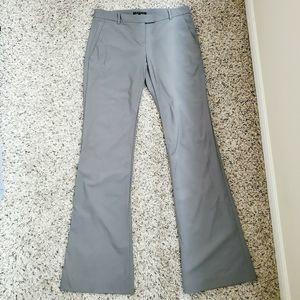 Theory Women Wool Dress Pants Size 10 Gray Color